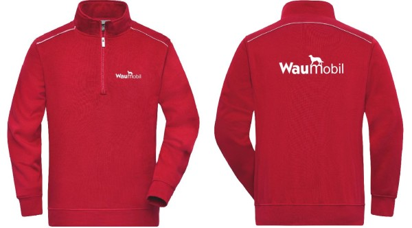 Unisex Sweatpullover mit Waumobil Logo