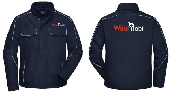 Unisex Softshell Jacke mit Waumobil Logo