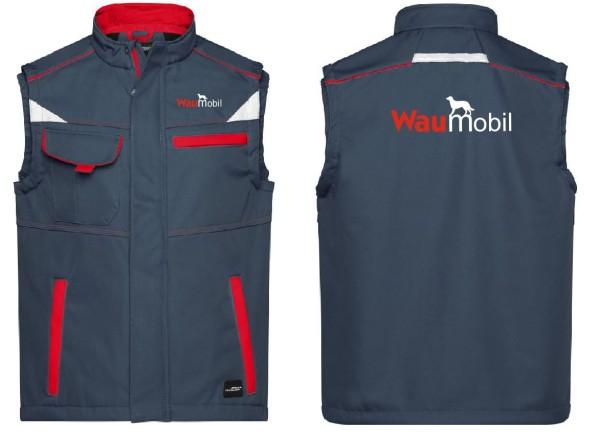 Unisex Softshell Weste mit Waumobil Logo