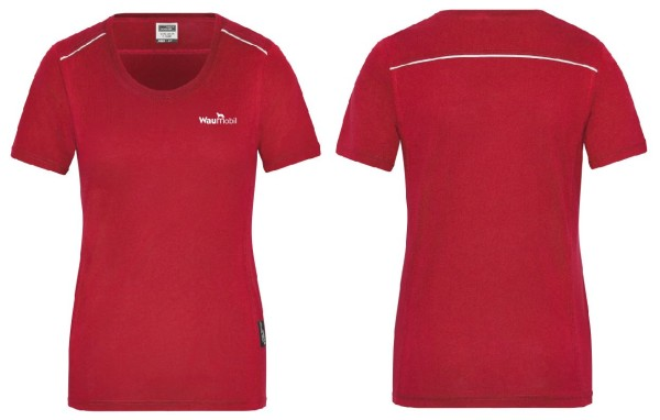 Damen T-Shirt Waumobil Logo